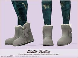 ugg sale cc fuzy warm winter boots by sim pli caz sims 3 downloads cc