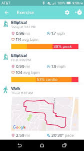 fitbit app android solved how do i view my gps maps of completed exercises fitbit