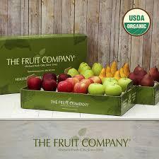 fruit gift box the fruit company 32 organic fruit gift box