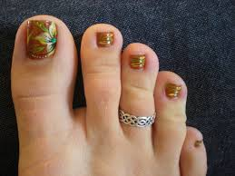 festive fall toes september 2010 pedicure ideas pedicures and