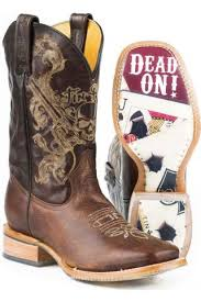 womens boots or dead s cowboy boots brown outlaw tin haul boots with dead on