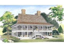 country house plans with porch wrap around porches house plans country house plan two levels of