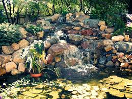 How To Make A Koi Pond In Your Backyard Top How To Build A Waterfall Pond In The Backyard Architecture Nice