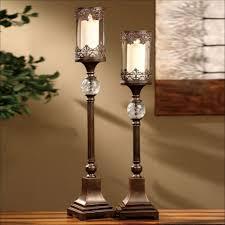 living room fabulous tall floor candle holders walmart body