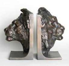 bookends lion 1930 s belfort lion cast irong bookends made in germany lions