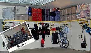 trailer garage backyards organizing garage organization shelves storage diy