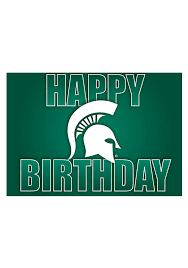 michigan state spartans happy birthday card 21230434