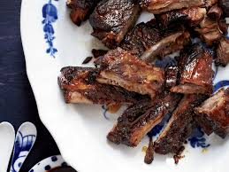 honey glazed spareribs recipe grace parisi food u0026 wine