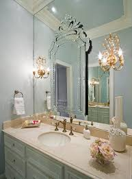 theme mirror perfume tray ideas bathroom traditional with white vase sconce on