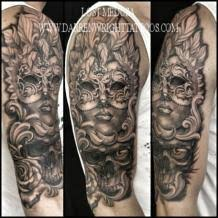 mask tattoos and designs page 31