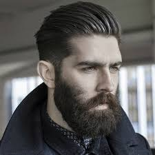 hairstyles that go with beards most popular ideas of mens hairstyles with beards