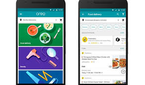 delivery service app releases app for food delivery home services
