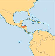 A World Map by Honduras Operation World