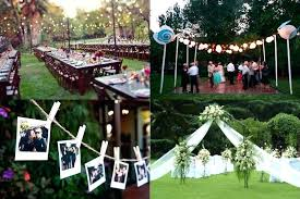 wedding cheap decorating backyard wedding cheap outdoor wedding decorations bold