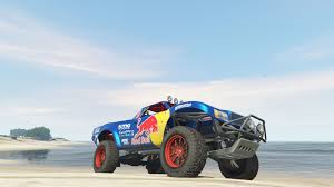 trophy truck red bull livery gta5 mods