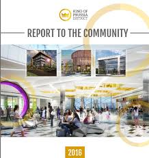 2016 annual report to the community by king of prussia district