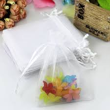 white organza bags white organza bags 13x18cm organza jewelry gift pouch bags