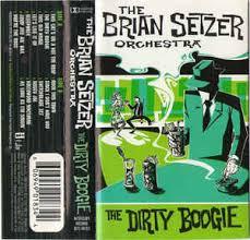 the brian setzer orchestra the boogie cassette album