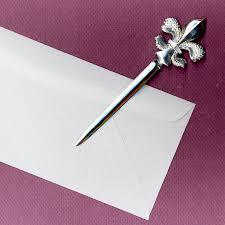fleur de lis letter opener maurice milleur fleur de lis letter opener royal maurice milleur