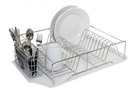 kitchen dish rack ideas furniture home copper tier dish drainer modern 2017