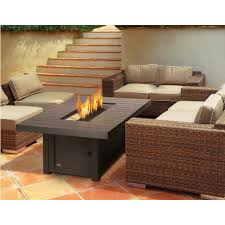 Fire Patio Table by Shop Napoleon St Tropez Patio Flame Fire Table Rectangular