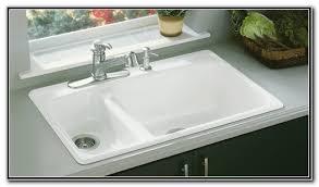 Kohler Cast Iron Kitchen Sinks Sink And Faucets  Home - Cast iron kitchen sinks