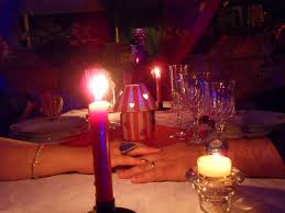 ristorante a lume di candela roma serata romantica anzio b b di mare e di sale