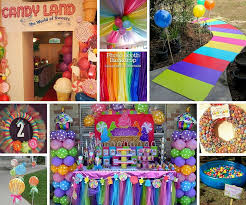 candyland party ideas kids party ideas at birthday in a box
