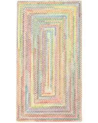 Capel Area Rug Bargains On Capel Rugs Baby S Breath Braided 3 X 5 Area Rug In
