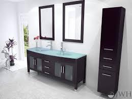 vanities glass top vanities australia glass top vanity double