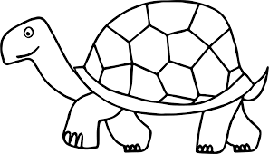 walking tortoise turtle coloring page wecoloringpage
