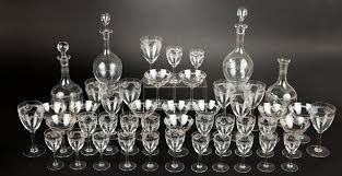 Baccarat Crystal Barware Baccarat Crystal Crystal Candy Set For Baccarat Hayon Studio