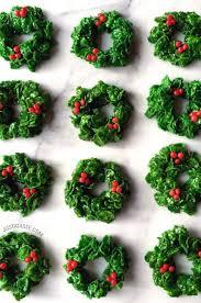 christmas wreath marshmallow christmas wreaths just a taste