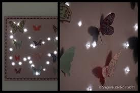 d馗oration papillon chambre fille organisation deco chambre bebe fille papillon