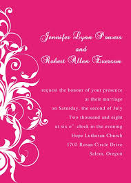 online marriage invitation card pink damask wedding invitations ewi010 as low as 0 94