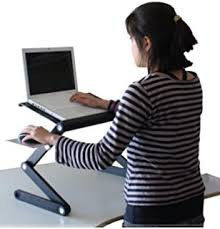 Laptops Desk Standing Desk Adjustable Sit Stand Desk For Laptops