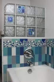 Glass Block Bathroom Designs 12 Best Glass Tile Blocks Images On Pinterest Glass Blocks