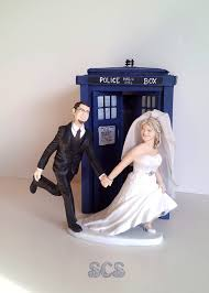 dr who cake topper doctor who wedding cake topper