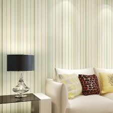 d orations chambre moderne minimaliste amélioration de l habitat non tissé rayures