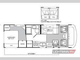 Minnie Winnie Floor Plans by Used 2005 Fleetwood Rv Fiesta 26q Motor Home Class A At Lichtsinn