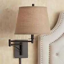 Plug In Wall Lights Brass Nook Pivoting Wall Sconce Mid Century Modern Design
