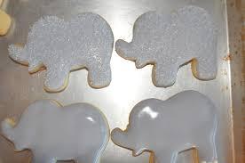 photo elephant and peanut baby shower image