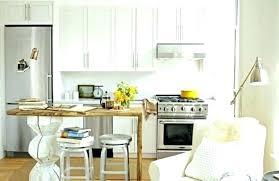 cuisine petit espace design table pour petit espace cuisine de studio extensible lolabanet com