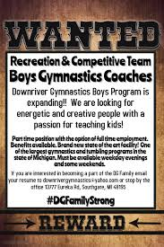 receptionist jobs in downriver michigan gymnastics and tumbling instruction parkour instruction downriver