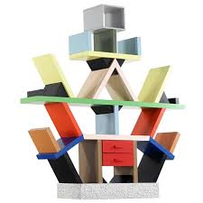 Room Divider With Shelves Ettore Sottsass Carlton Shelf 1981 By Memphis Italy Room