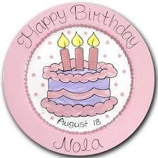 personalized birthday plate personalized birthday plates miss arty