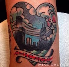the 5 most chicago tattoo designs