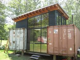 modern natural feels inside the conex container cabins can add the
