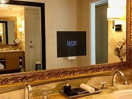 Mirror Bathroom Tv Master Bathroom Tv In Mirror In One Bedroom Suite Picture Of