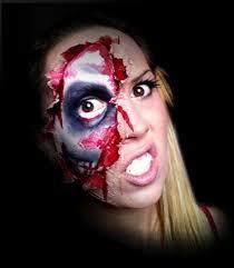 skin peeled off makeup for halloween by alemeller13 on deviantart